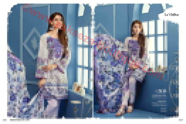 Gul Ahmed Summer Premium Lawn 2017 suit C-305