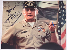 Load image into Gallery viewer, James Tolkan Signed Topgun 8x10
