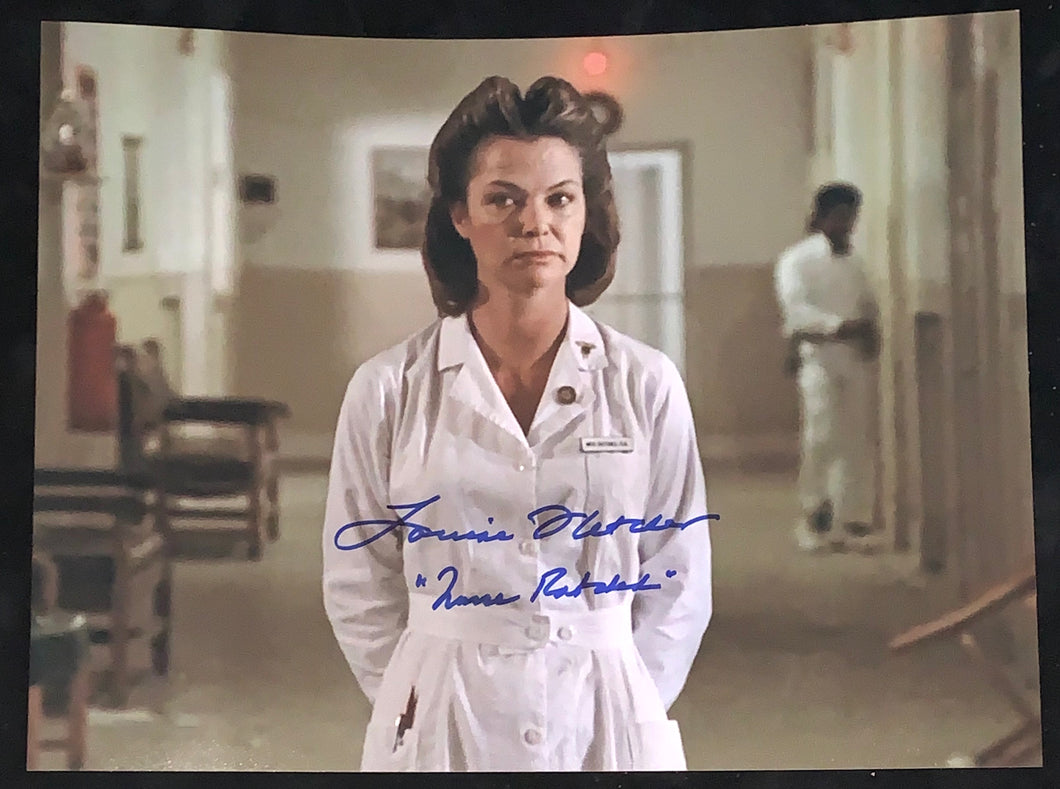 Louise Fletcher Signed One flew over the cuckoos nest 11x14