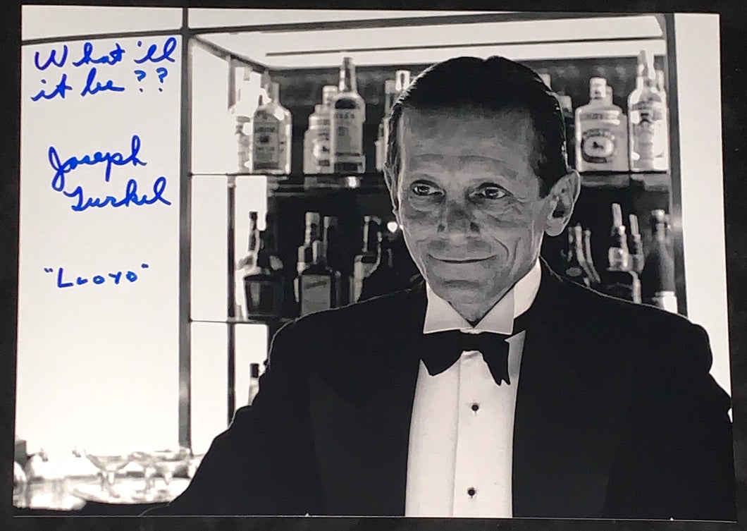 "Joe Turkel Signed The Shining 11x14 w/""What'll be?"" Inscription"