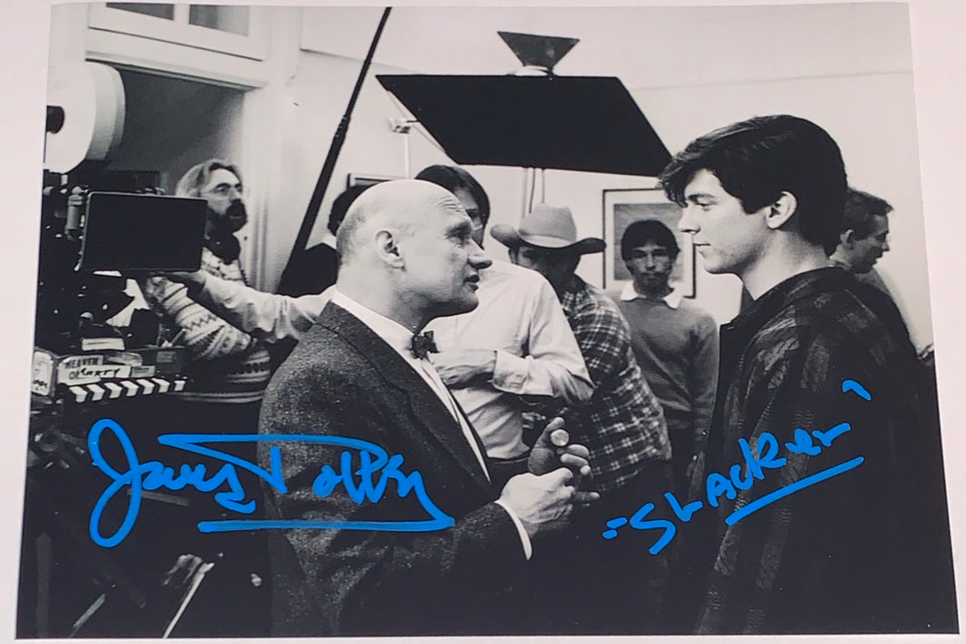 James Tolkan Signed 8x10 Back to the Future