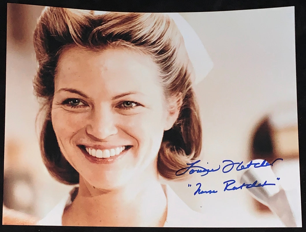 Louise Fletcher Signed Cuckoos Nest 11x14