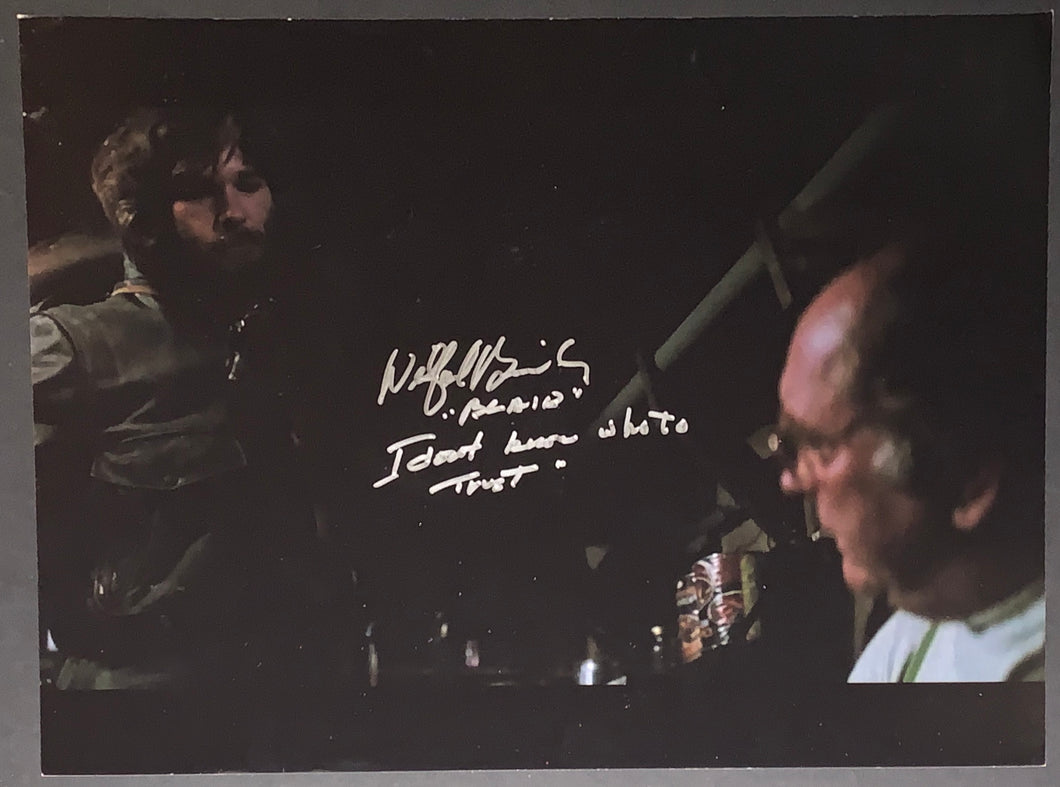 Wilford Brimley Signed 11x14 The Thing w/Inscription