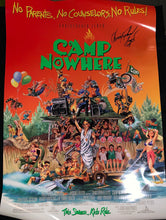 Load image into Gallery viewer, Christopher Lloyd Signed Camp Nowhere DS Original Theatrical Poster