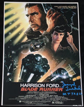 Load image into Gallery viewer, Joe Turkel Signed Bladerunner 12x18 Poster