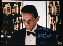 "Load image into Gallery viewer, Joe Turkel Signed Shining 11x14 w/""Drink Up!"" Inscription"
