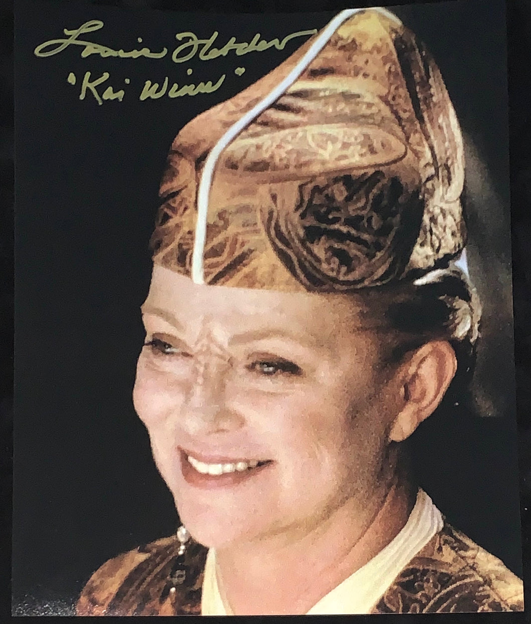 Louise Fletcher Signed Star Trek 11x14