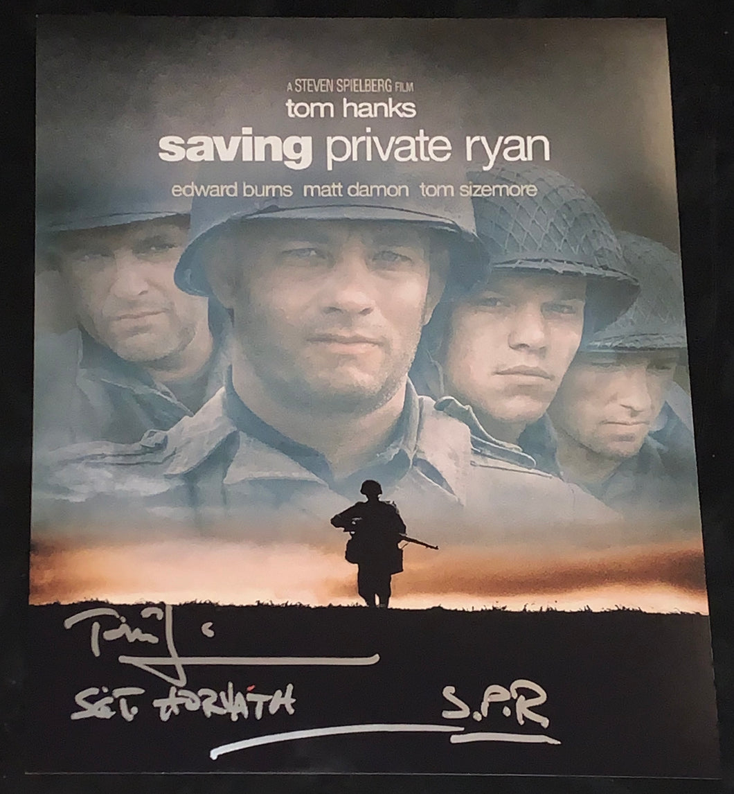 Tom Sizemore Signed Saving Private Ryan 11x14