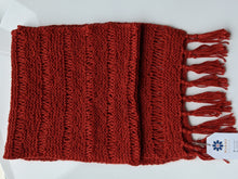 Load image into Gallery viewer, Fall Scarf- Peruvian Alpaca wool