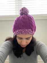 Load image into Gallery viewer, Violet Beanie - Alpaca wool