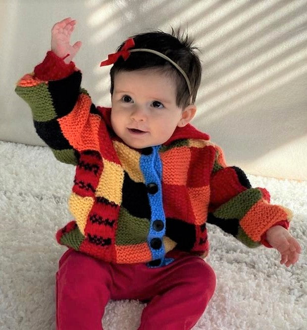 Baby/Infant Styles Cardigan - Antiallergic wool