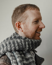 Load image into Gallery viewer, Unisex Fossil Scarf - Peruvian Alpaca wool