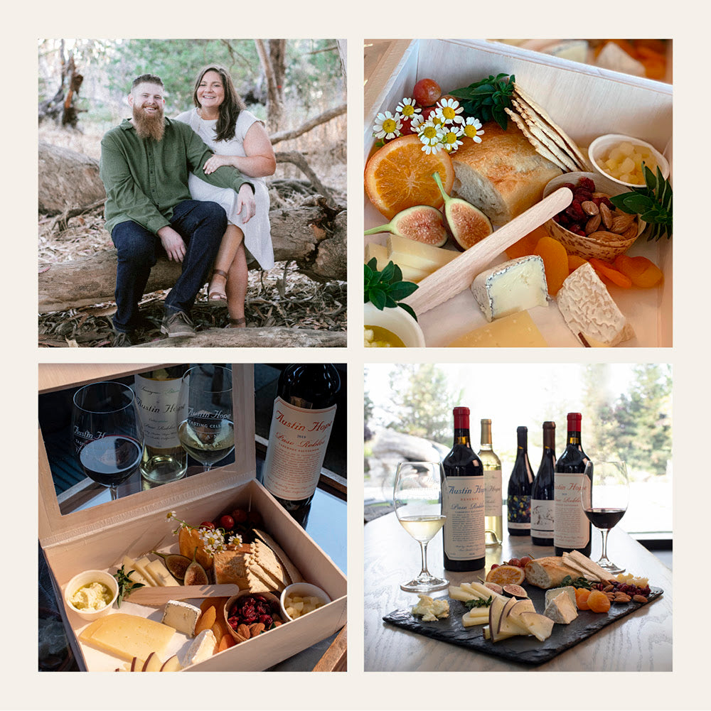 Wine and cheese pairing event with Hope Family Wines