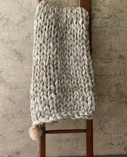 "Load image into Gallery viewer, WOOL BLEND LOUNGER LYNKS  50"" X 60"""