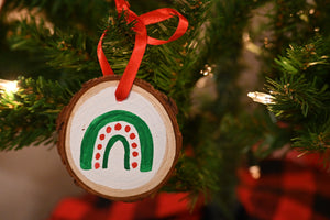 Wood Ornament 14