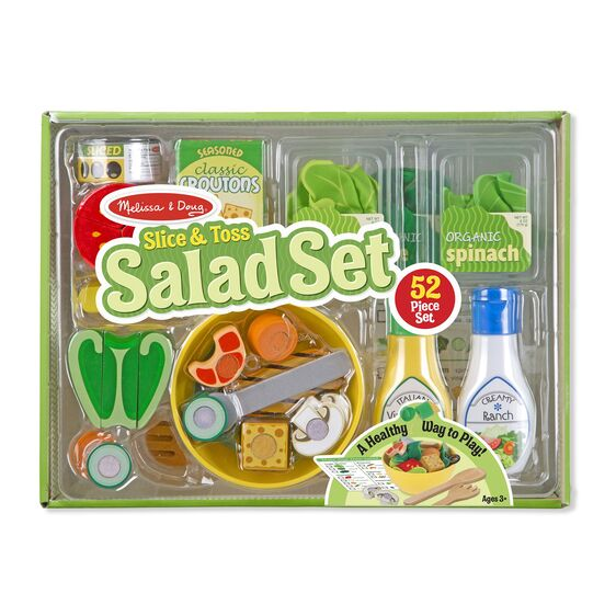 Salad Set Wooden