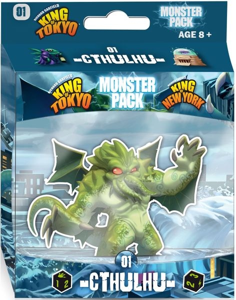 King of Tokyo Monsters Pack Expansion
