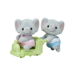 Calico Critters - Ellwoods Elephant Twins