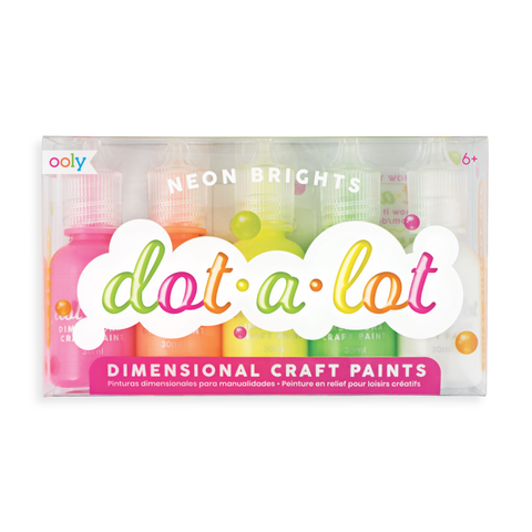 Dot a Lot Neon Brights