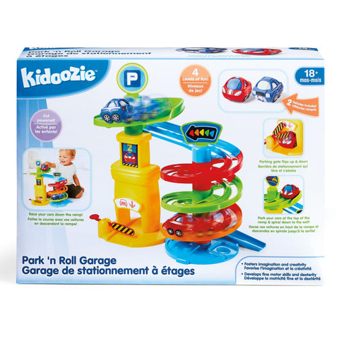 Park 'n Roll Garage Ages 18mth+