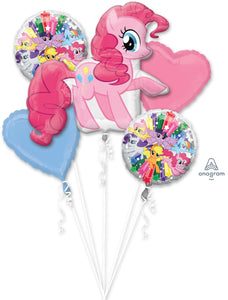 Pinkie Pie 5 Balloon Bouquet
