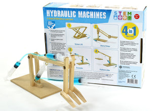 Build-Your-Own Hydraulic Machines