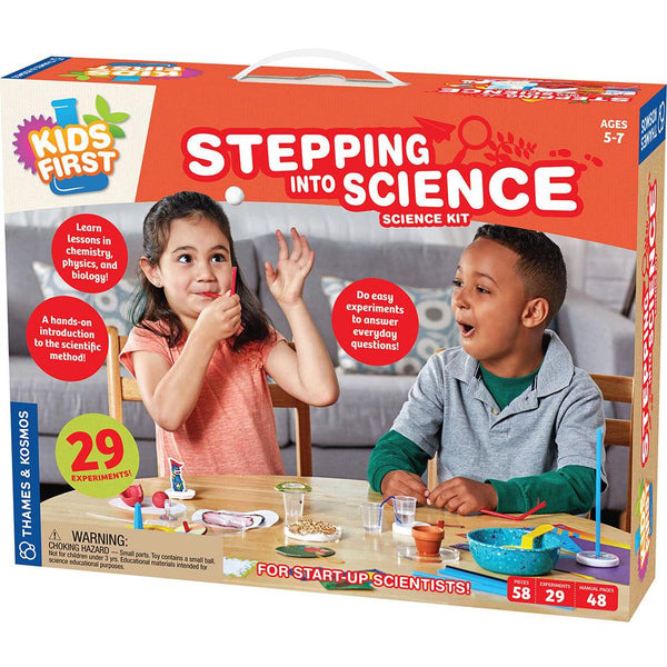 Stepping into Science Ages 5-7+ Parents Choice Award!