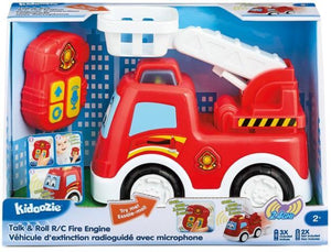 Talk & Roll R/C Fire Engine