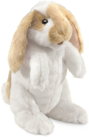 Standing Lop Rabbit Puppet Folkmanis