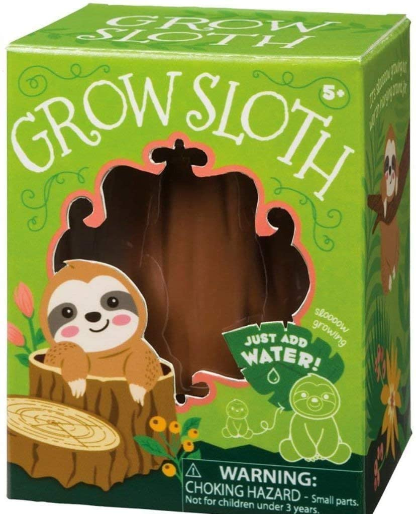 Growing SLOTH 5+ Just add water