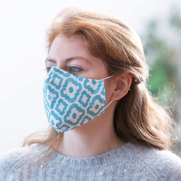 Adult Non-Medical Antimicrobial Tea-infused Cotton Face Mask