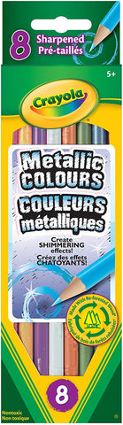 Metallic Colours 8 Crayola