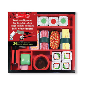 Wooden Sushi Playset