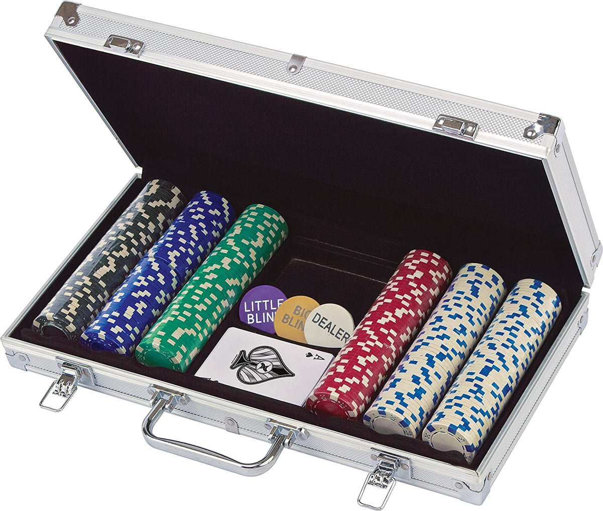 300pc Poker Set Curbside Only Playful Minds