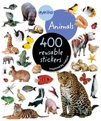 400 Reusable Stickers - Animals