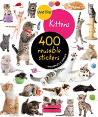 400 Reusable Stickers - Kittens