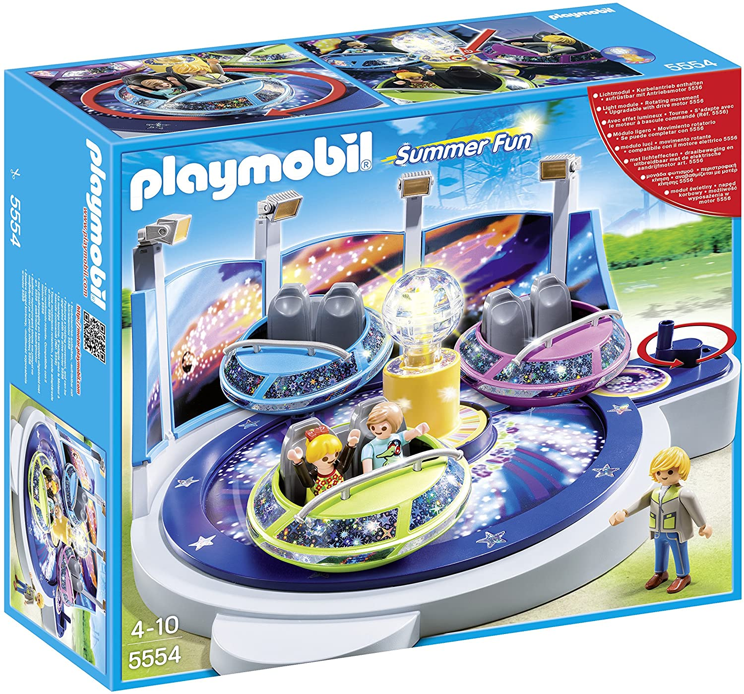 Spinning Spaceship with Lights Playmobil 4-10