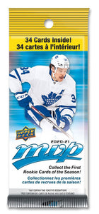 2020-2021 MVP Hockey Card Fat Pack (34 cards)