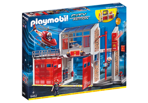 Fire Station with Alarm Playmobil 4-10