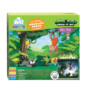 Air Dough Animal World Build It Kit