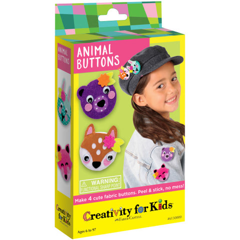 Animal Buttons Mini Kit