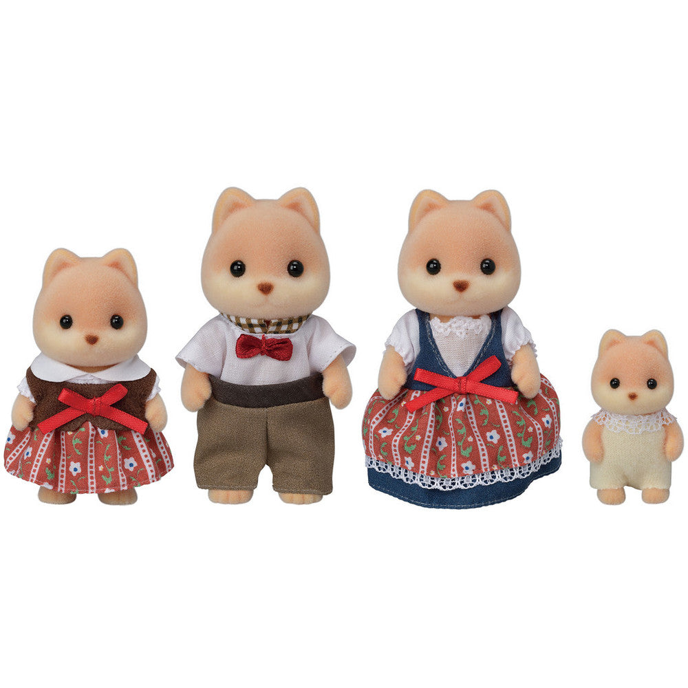 Calico Critters - Caramel Dog Family