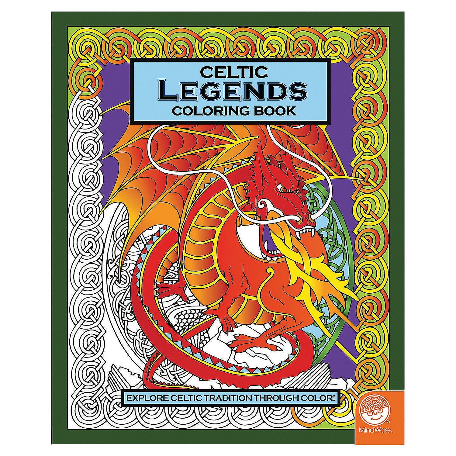 Celtic Wonders Colouring Book