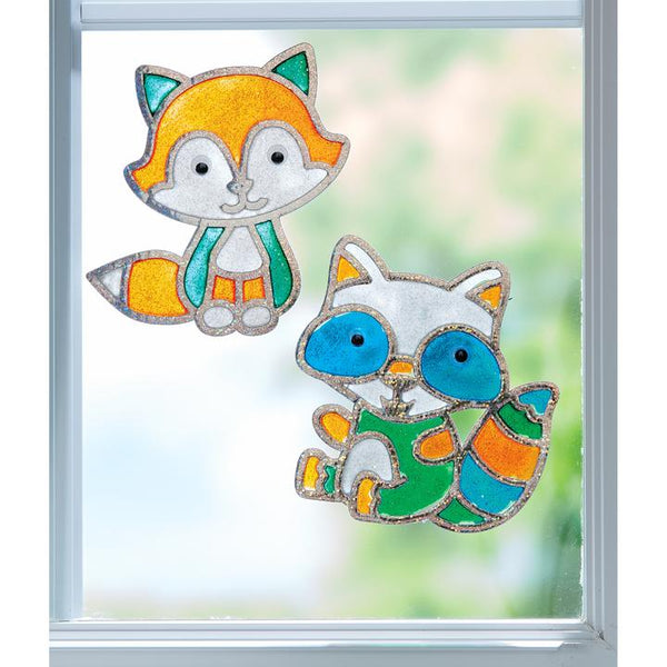 Window Art - Forest Friends