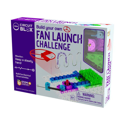 Build Your Own Fan Launch Challenge 5+