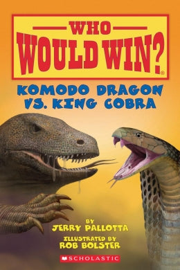 Komodo Dragon vs. King Cobra (Who Would Win?) 6+