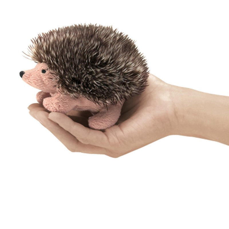 Mini Hedgehog Finger Puppets