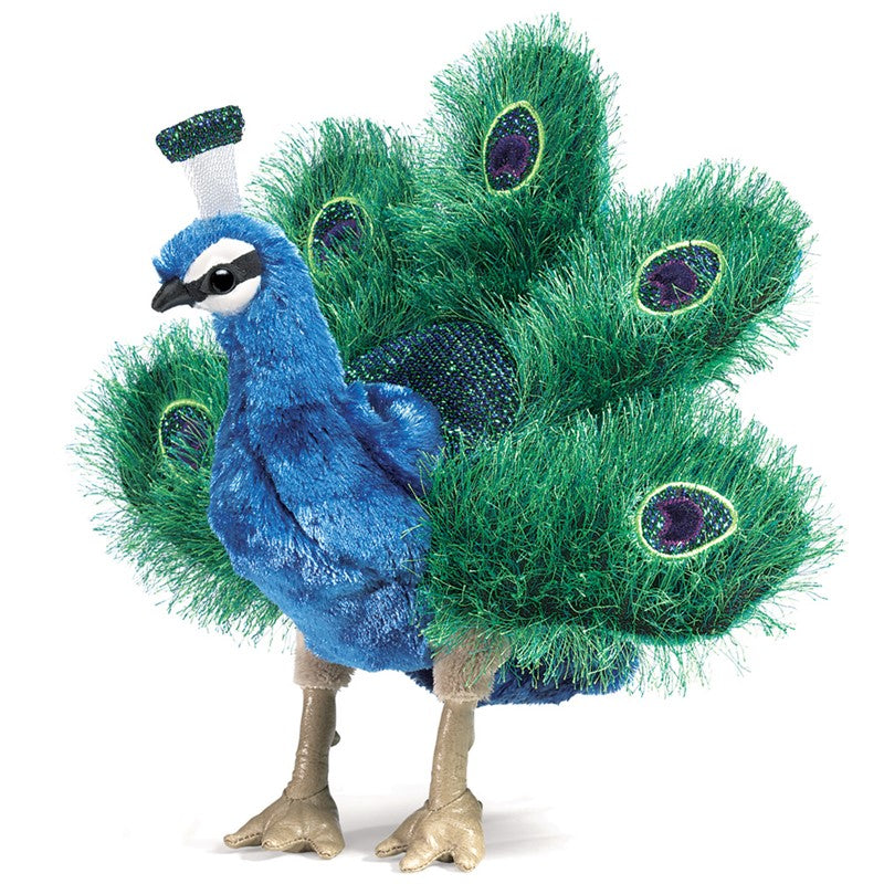 Peacock small Puppet