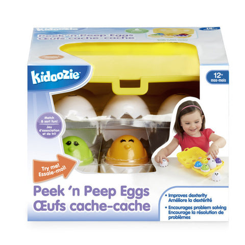 Peek 'n Peep Eggs 12mth+.