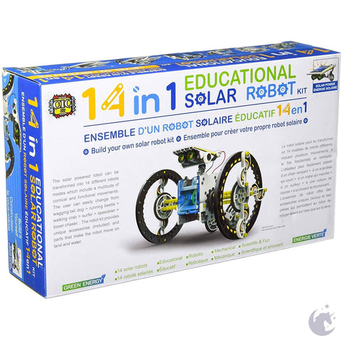 14-in-1 Educational Solar Robot Kit